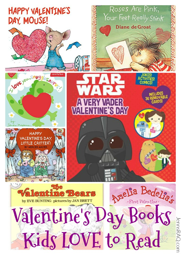 Valentine's Day Books Kids LOVE to Read as seen on JennsRAQ.com