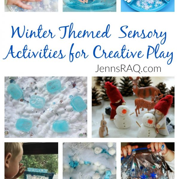 Winter Themed Sensory Activities for Creative Play