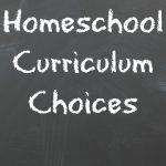 2015-2016 Homeschool Curriculum Choices