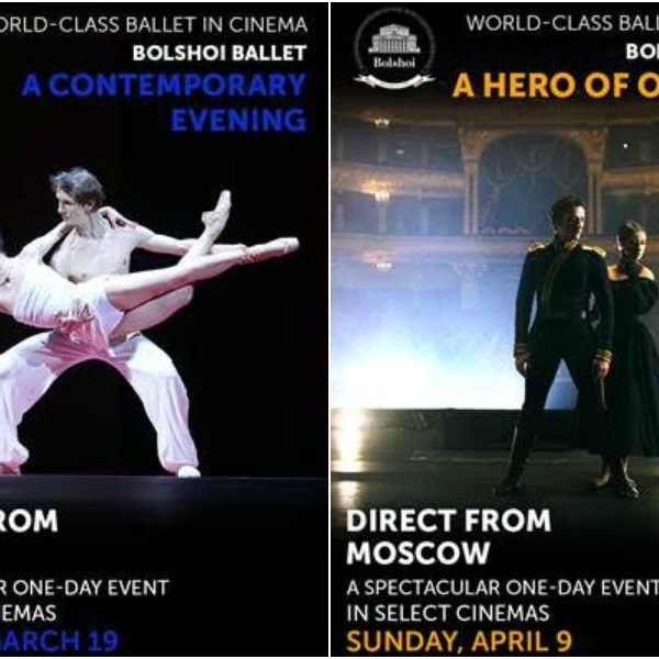 Bolshoi Ballet in Cinema Performances – Last Two Shows!