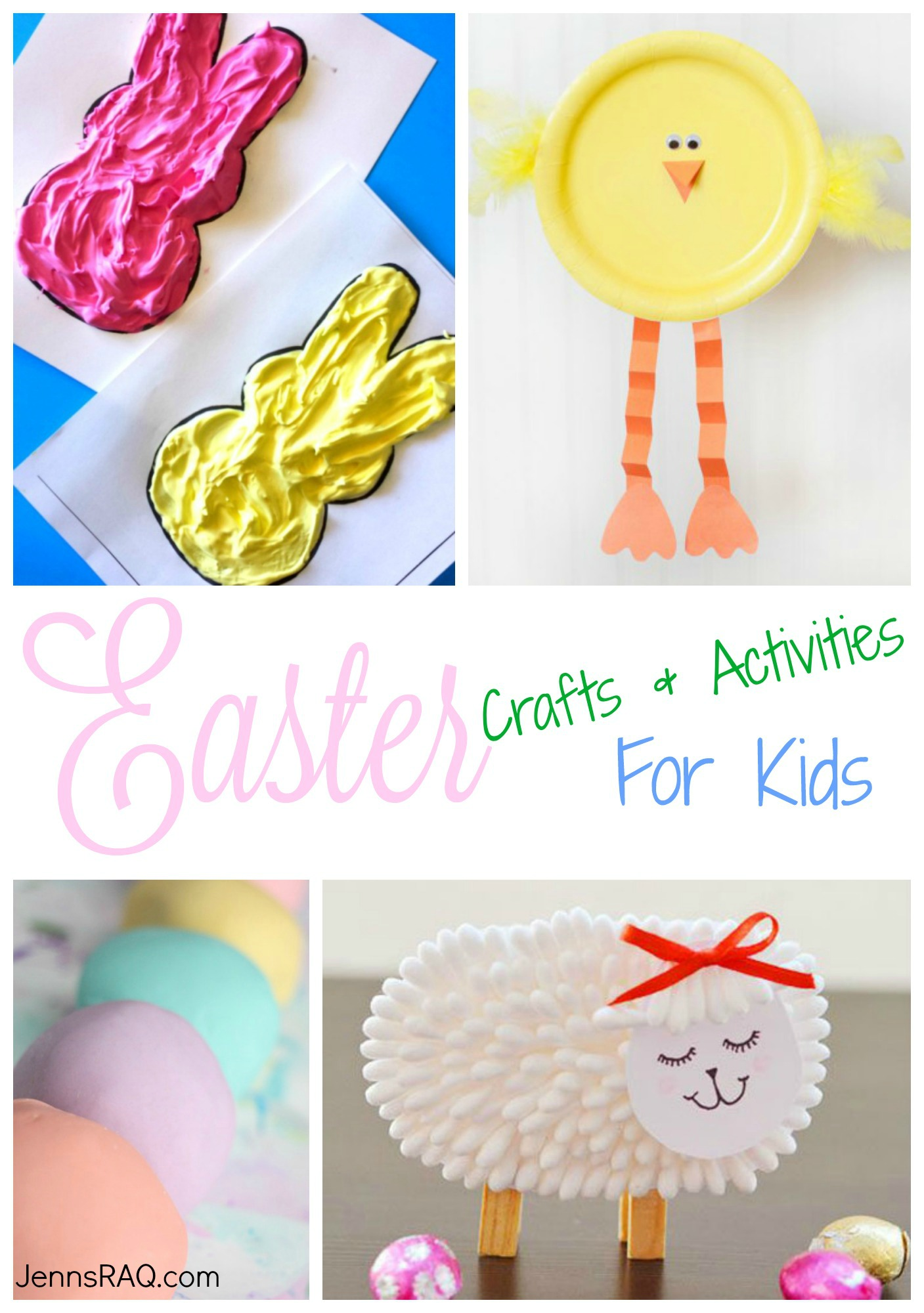 Easter Crafts and Activities for Kids as seen on JennsRAQ.com