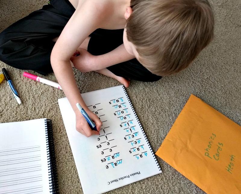 Eclectic Foundations Language Arts Level B - Phonics Practice