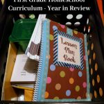 First Grade Homeschool Curriculum – Year in Review