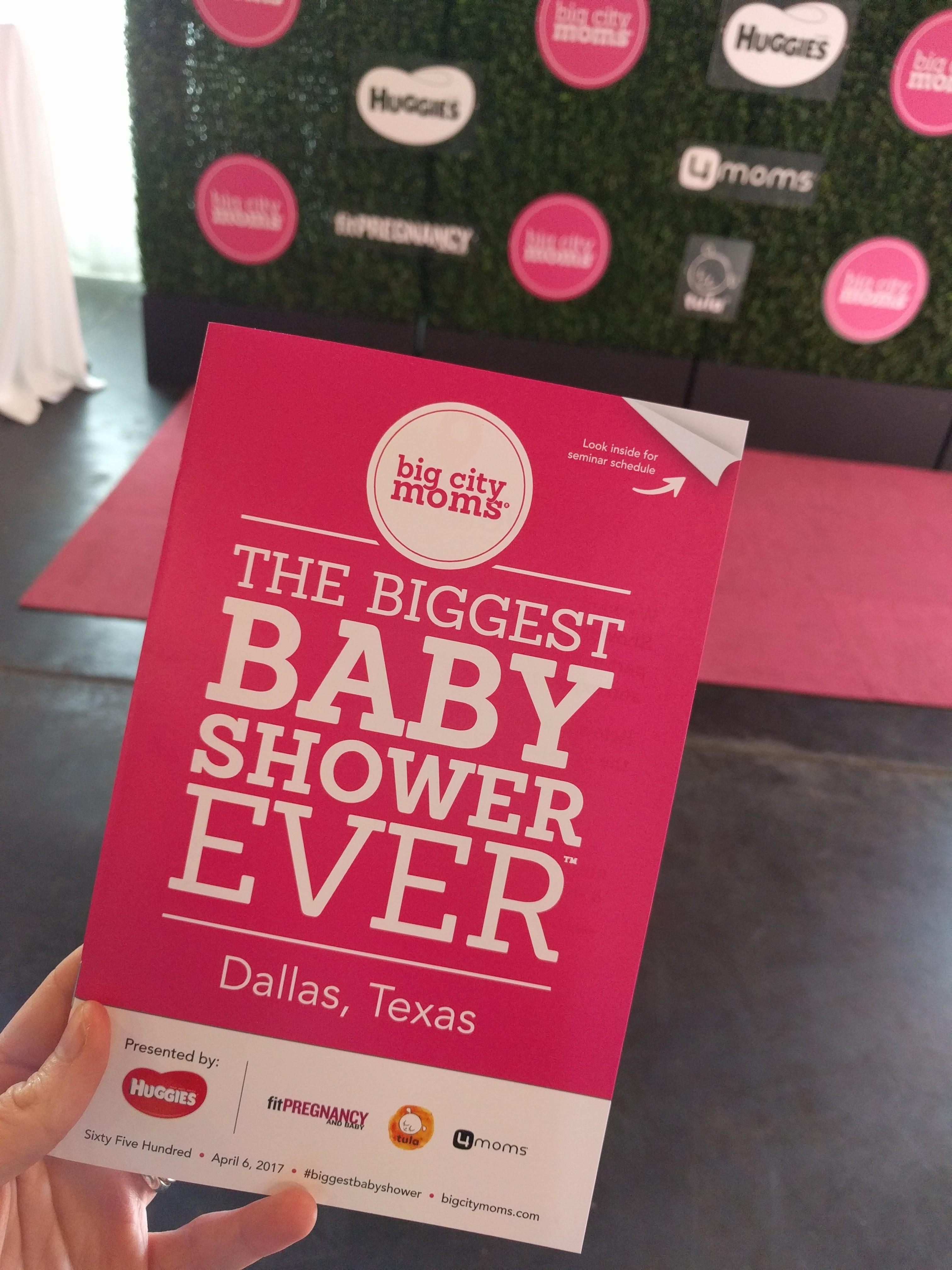 Biggest Baby Shower Ever Dallas 2017