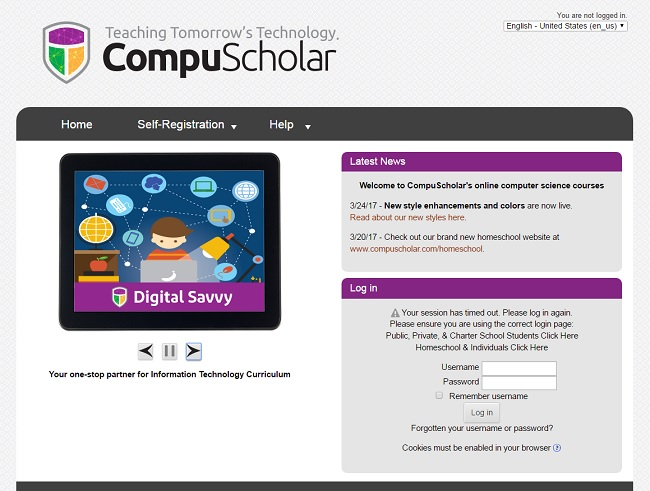 CompuScholar Digital Savvy