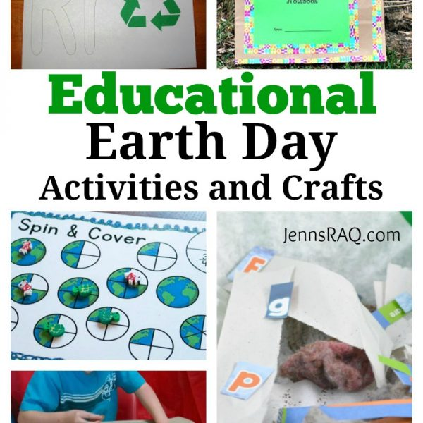 Educational Earth Day Activities and Crafts