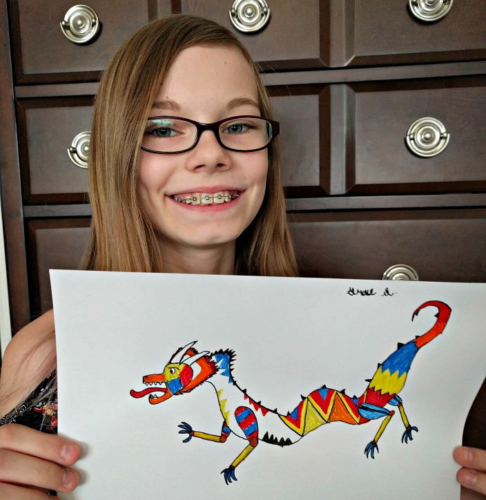 ArtAchieve Level I Chinese Dragon final product
