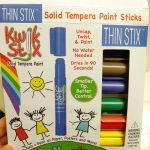 Thin Stix Solid Tempera Pain Sticks (Review)