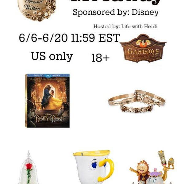 Beauty and the Beast Prize Pack Giveaway!