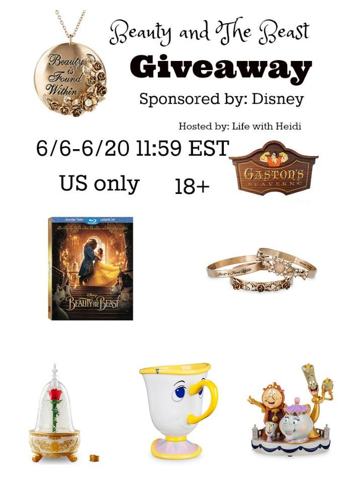Beauty and the Beast Prize Pack Giveaway