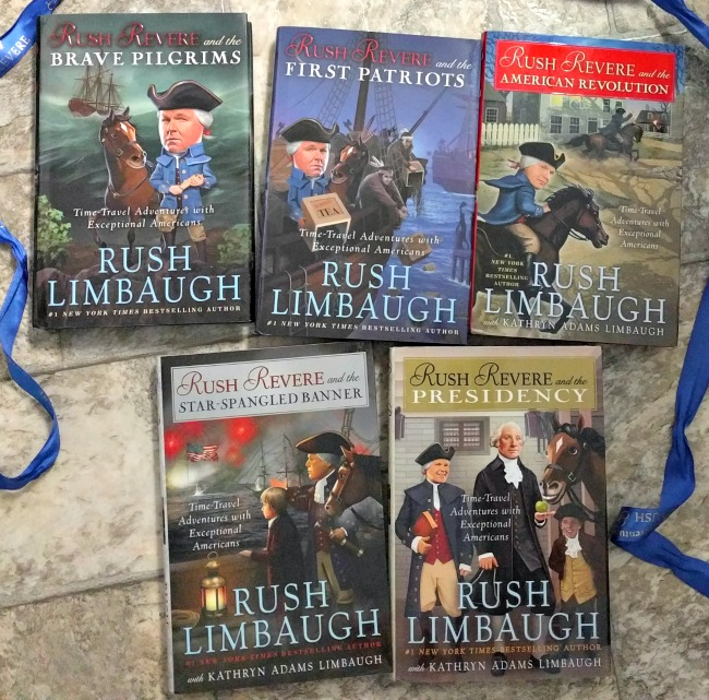 Adventures of Rush Revere #1 New York Times Bestselling Book Series by Rush and Kathryn Adams Limbaugh