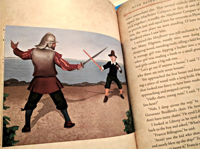 Adventures of Rush Revere and the Brave Pilgrims