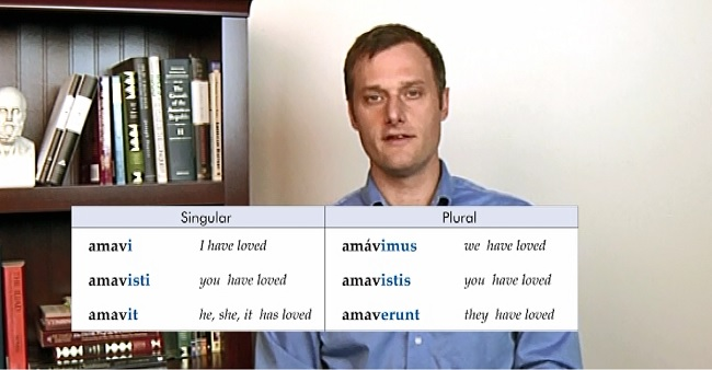 First Form Latin DVD Video Lesson