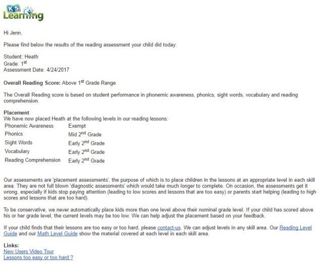Reading Test For 2nd Grade Online
