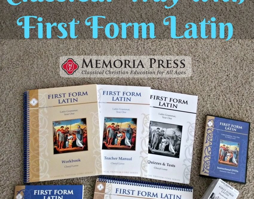 First Form Latin Complete Set Review