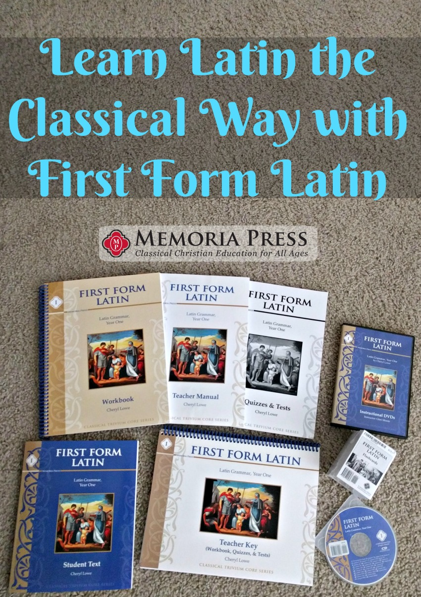 Learn Latin the Classical Way with First Form Latin