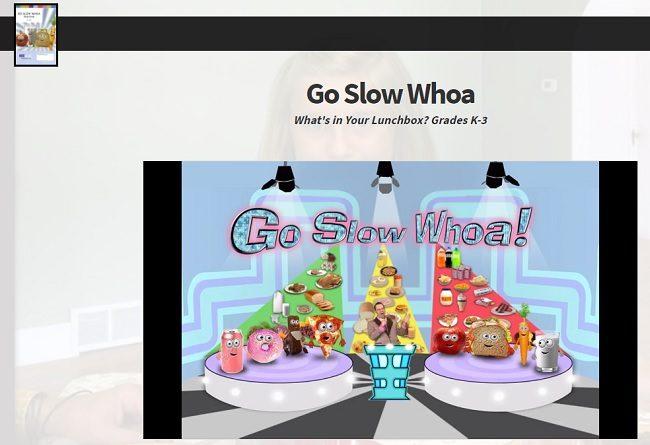 MarshMedia Go Slow Whoa Elementary Health Video