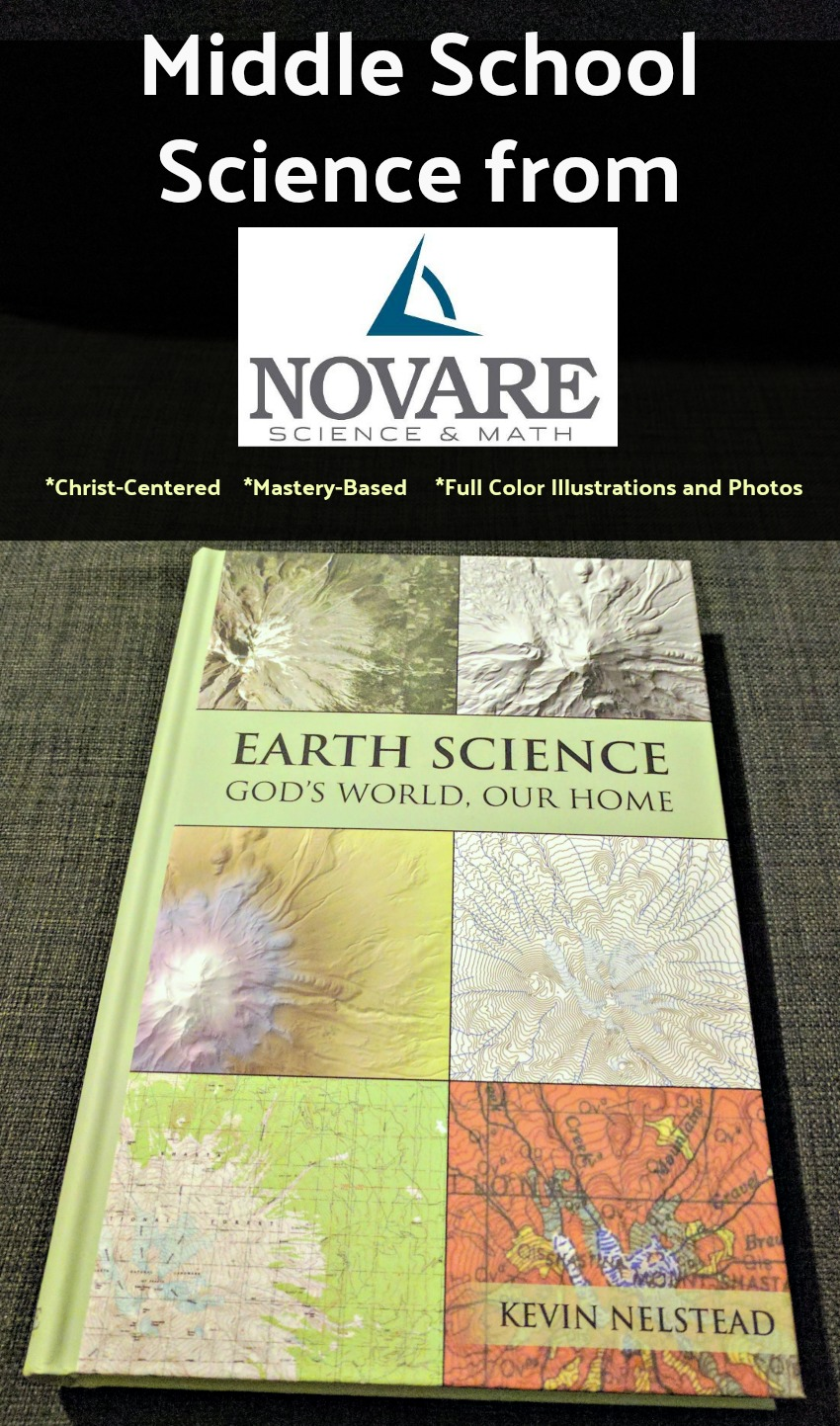 Novare Science & Math - Earth Science Middle School Text Book