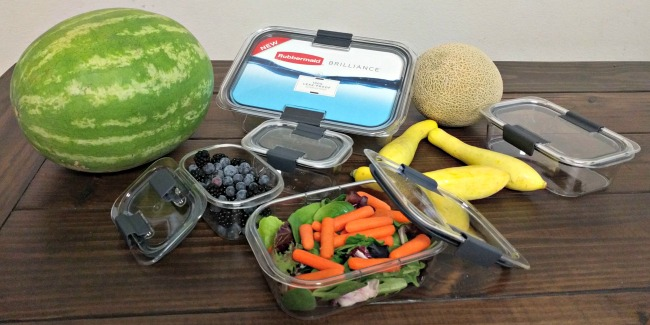 Snack Prep for Healthy Summer Eating - Rubbermaid BRILLIANCE