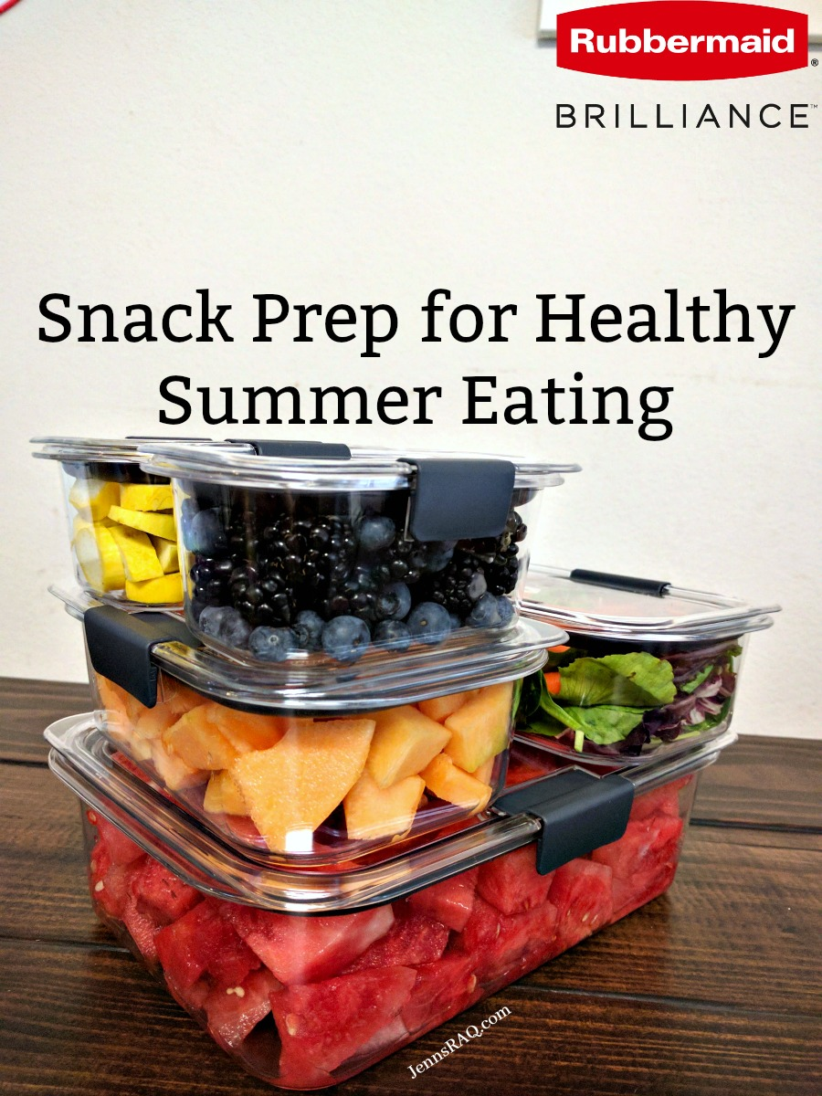 Snack Prep for Healthy Summer Eating