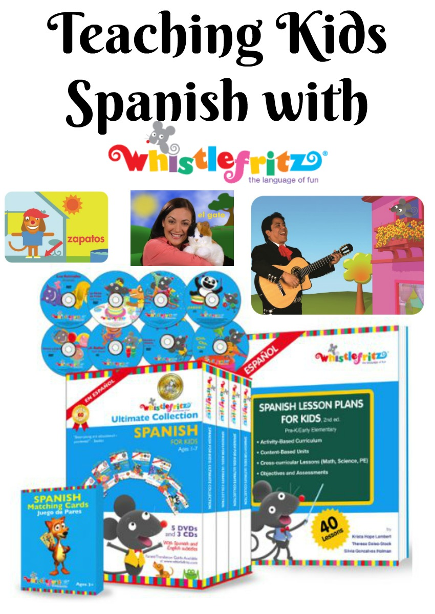 Teaching Kids Spanish with Whistlefritz Spanish Videos for Kids