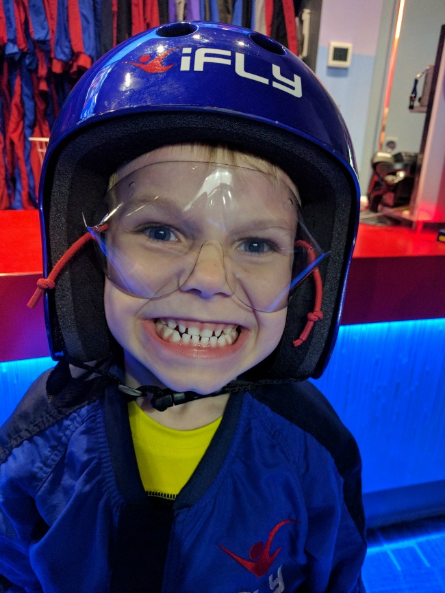 iFLY Fort Worth in Hurst Texas - Kids as young as 3 can fly