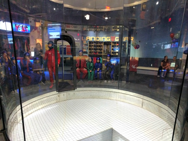 iFLY Fort Worth in Hurst Texas - Waiting to fly