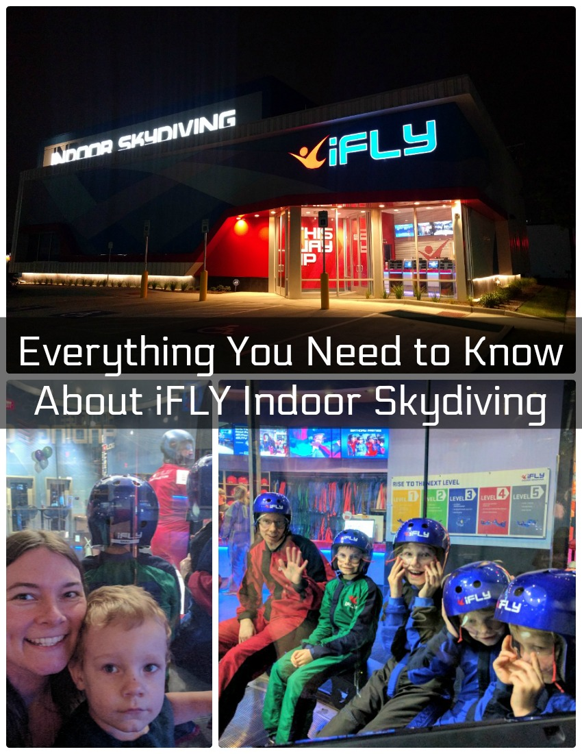 Everything You Need to Know About iFLY Indoor Skydiving as seen on JennsRAQ