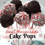 The Best Homemade Cake Pops