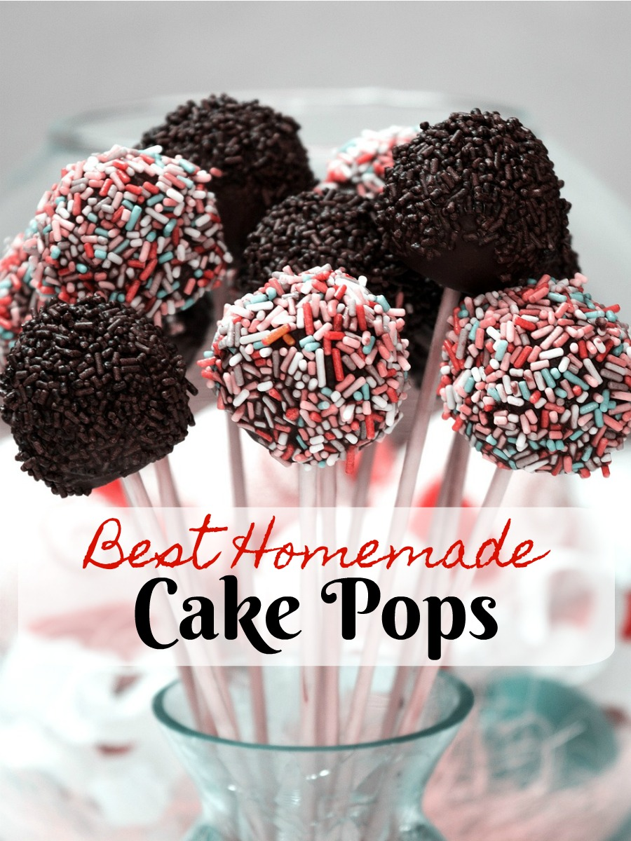Best Homemade Cake Pops