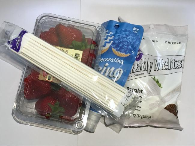 Patriotic Strawberries Ingredients