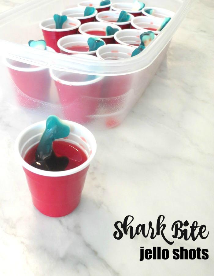 Shark Bite Jello Shots