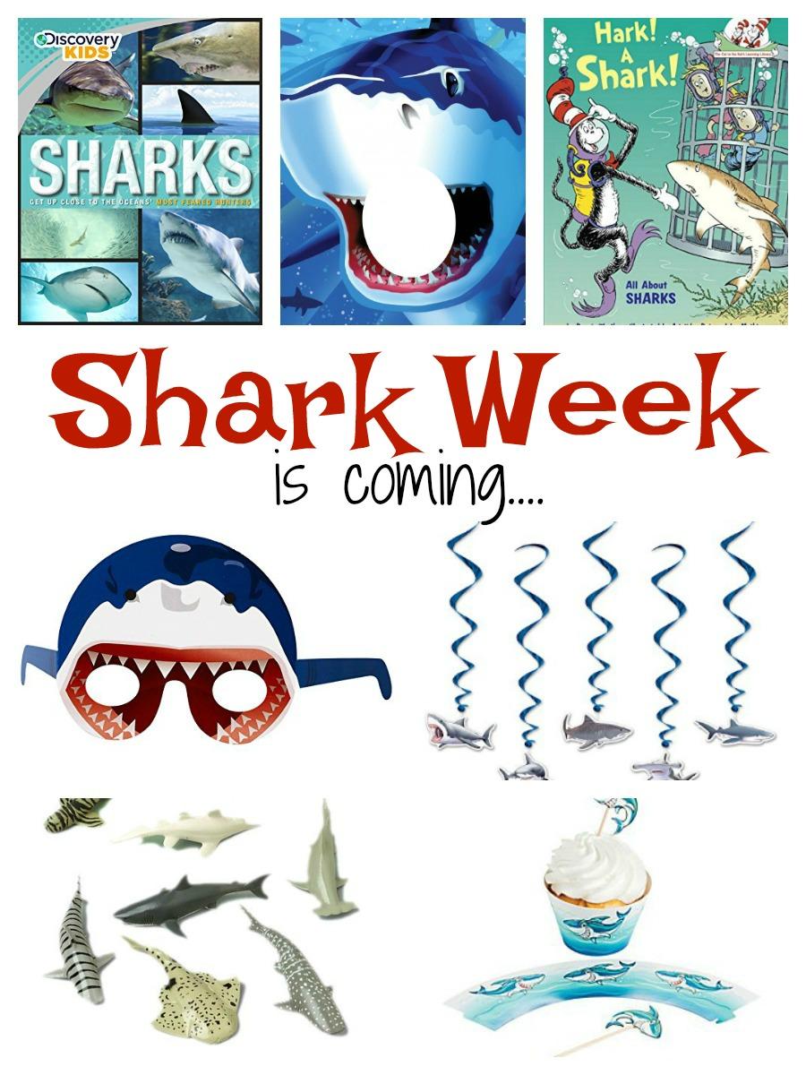 Shark Week is Coming - Be Prepared