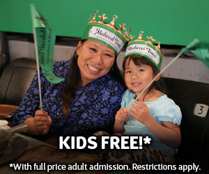 Medieval Times Dallas Kids Eat FREE promotion