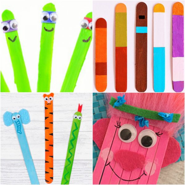 20 Adorable Popsicle Stick Crafts