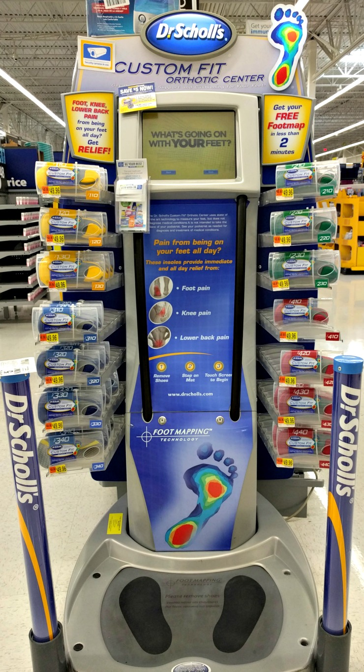 Save $10 on Dr. Scholl's Custom Orthotic Inserts - Real And Quirky Dr Scholls Foot Mapping Kiosk Locations on
