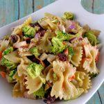 Kitchen Sink Veggie Pasta Salad Recipe