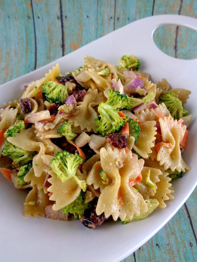 Kitchen Sink Veggie Pasta Salad