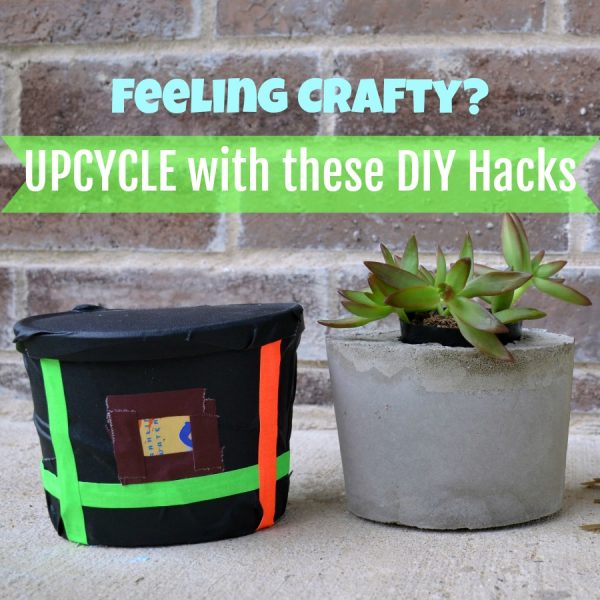UPCYCLE with these DIY Hacks