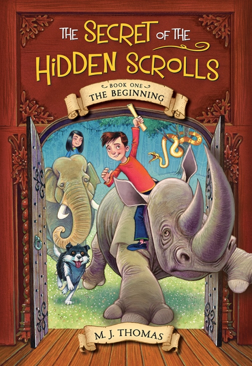 The Secret of the Hidden Scrolls Book One The Beginning