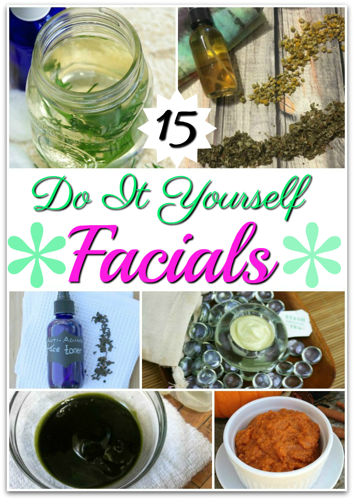 15 DIY Facial Treatments for Your Home Spa