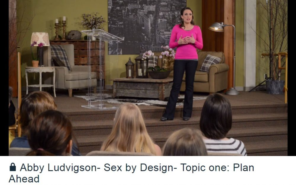 Abby Ludvigson Sex by Design - Christian video course on purity