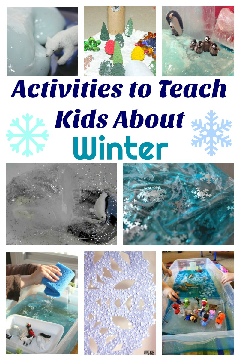 Activities to Teach Kids About Winter