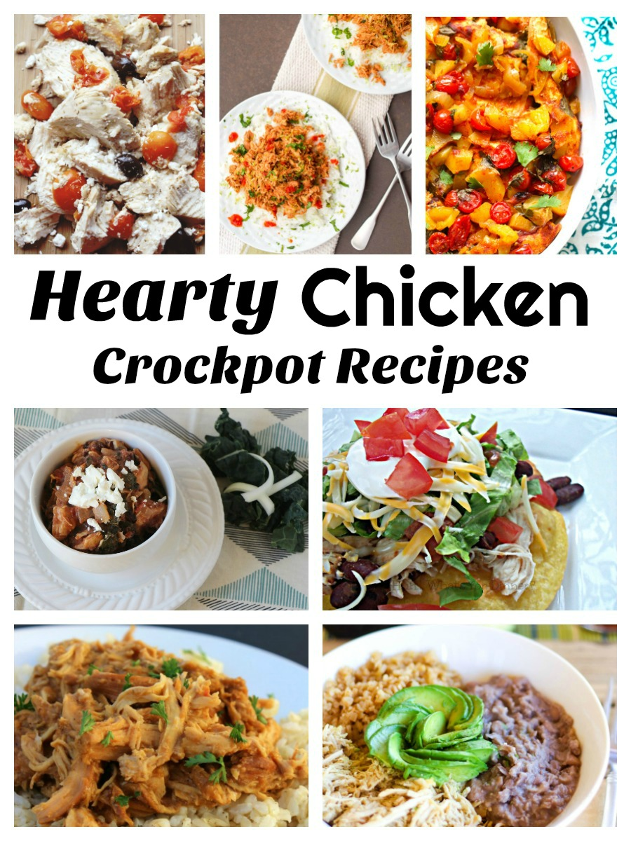 Hearty Chicken Crockpot Recipes