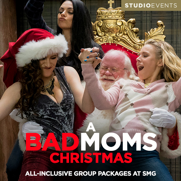 Studio Movie Grill Group Packages to see A Bad Moms Christmas