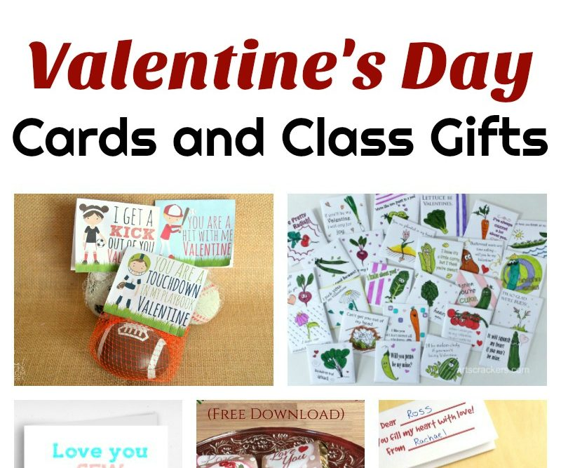 Valentine's Day Cards and Class Gifts