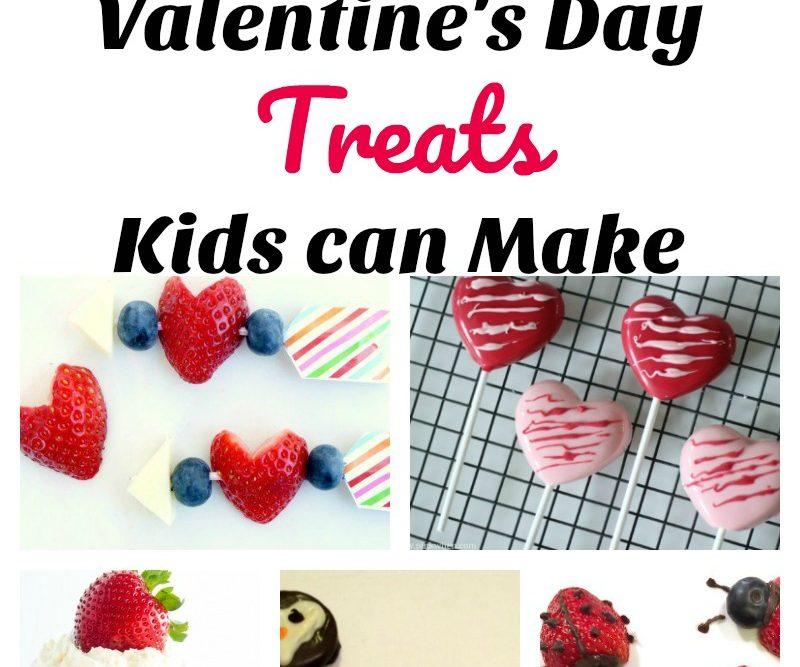 Valentine's Day Treats Kids can Make