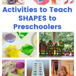 Activities to Teach SHAPES to Preschoolers