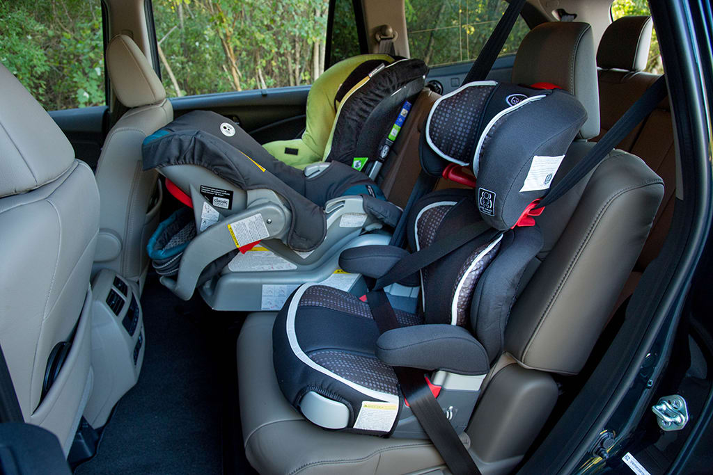 What Car Can Fit  Child Seats In The Back