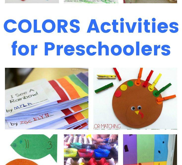 Colors Activities for Preschoolers